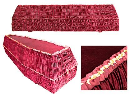 Гроб шестигранный БОРДО арт. 6-13