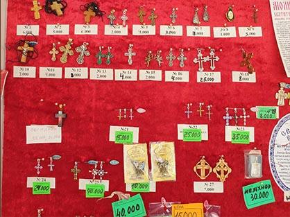 Огромный выбор нательных православных крестиков