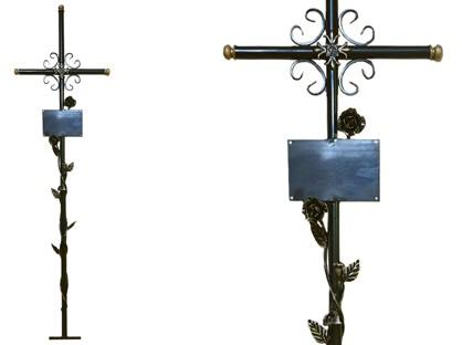 Крест Армянский ажурный с розами
