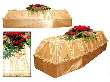 Гроб шестигранный арт. 6-03