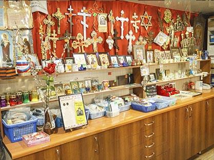 Кресты для иконостаса и другая церковная утварь